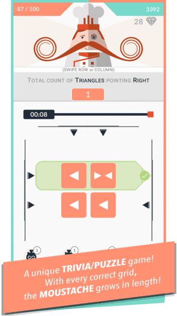 Mr. Mustachio #100 Rounds AppStore Screenshot 8