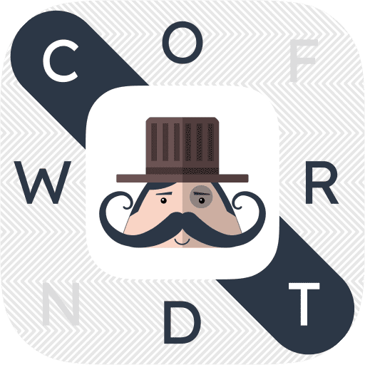 Mr. Mustachio Word Search Icon