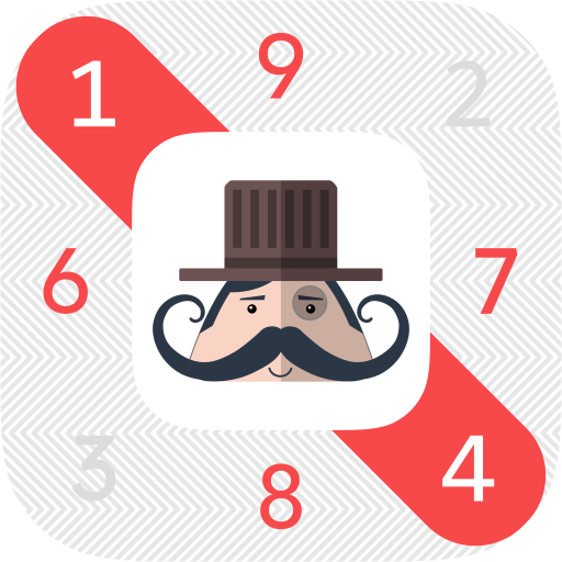 Mr. Mustachio Number Search Icon