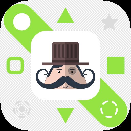 Mr. Mustachio : Grid Search App Icon